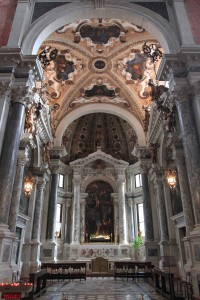 Chapel inside the Basilica di San Giovanni e Paolo.
