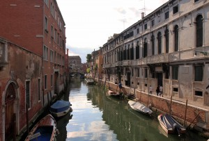 Another one of Venice's many, many canals.