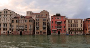 Buildings along the Grand Canal.
