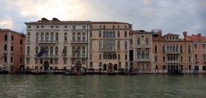 More buildings along the Grand Canal.