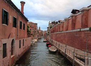 And yet another canal in Venice.