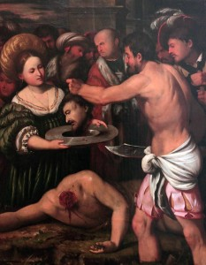 'The Beheading of John the Baptist' by Callisto Piazza.