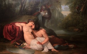 'Rinaldo and Armida' by Francesco Hayez.