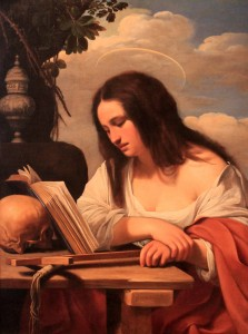 'The Penitent Mary Magdalene' by Carlo Saraceni (1614 AD).