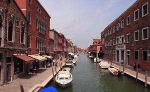 Canal in the island of Murano.