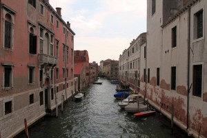 Another pleasant canal in Venice.
