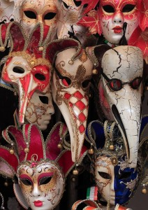 Carnival masks.