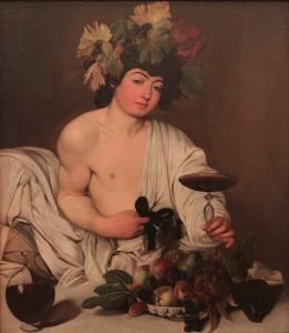 'Bacchus' by Caravaggio (1597/1598 AD).