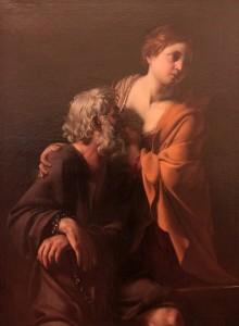 'Roman Charity' by Bartolomeo Manfredi (1610-1620 AD).