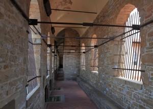 A corridor inside the Palazzo Vecchio.