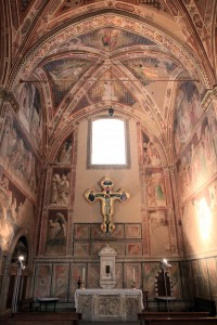 Castellani Chapel inside the Basilica of Santa Croce.