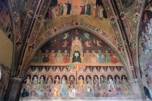 'The Triumph of the Christian Doctrine' by Andrea di Bonaiuto (1365-1367 AD) - inside the Spanish Chapel.