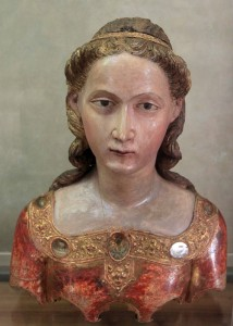 'Reliquary bust of St. Ursula' by Mariano di Agnolo Romanelli (end of the 14th-century AD).