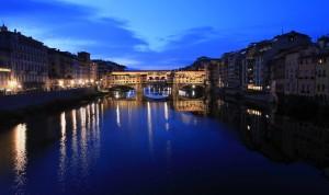 Ponte Vecchio in the morning.