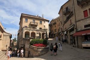 Street in San Marino.