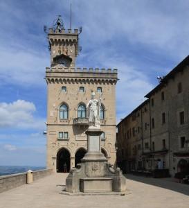 """The Palazzo Pubblico (""""Public Palace"""")."""