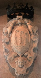 San Marino's Coat of Arms (sandstone, from the 17th-century AD).