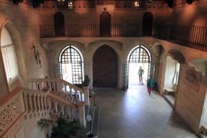 Inside the Palazzo Pubblico.