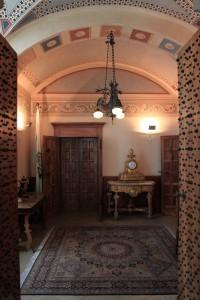 Room in the Palazzo Pubblico.