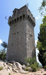The Third Tower (originally built in the 13th-century AD).