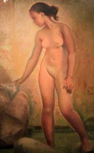 'Bather' by Emilio Ambron (1950 AD).