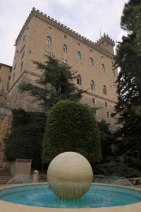 Fountain in San Marino.