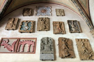 More Coats of Arms on display inside the Museo del Bargello.