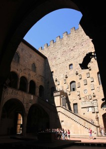 The courtyard in the Museo del Bargello (one of the oldest buildings in Florence, dating back to at least 1255 AD).