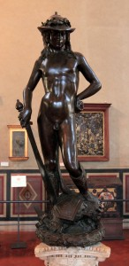 'David' by Donatello (1440 AD).