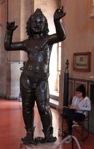 'Love/Attis' by Donatello (1440 AD).