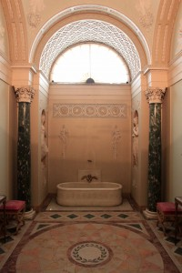 Napoleon's Bathroom in the Pitti Palace.