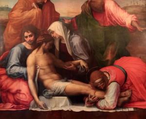 'Lamentation' by Fra Bartolomeo (1511/1512 AD).
