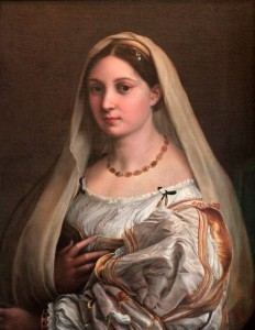 'The Woman with a Veil' by Raphael (1515 AD).