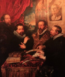 'The Four Philosophers' by Peter Paul Rubens (1611 AD).