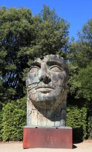 Statue in the Boboli Gardens.