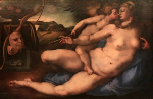 'Venus and Cupid' by Jacopo Carrucci (1532-1534 AD).