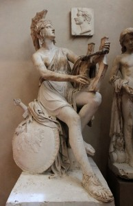 Plaster model for 'Monument to Adam Albrecht Adalbert, Count of Neipperg' by Lorenzo Bartolini (ca. 1829-1841 AD).