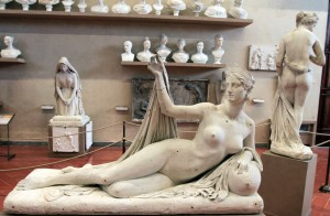 Plaster model for 'Juno' by Lorenzo Bartolini (ca. 1823-1830 AD).