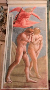 'The Expulsion from the Garden of Eden' by Masaccio.