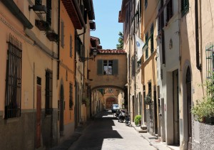 A street in Florence.