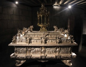 The Cassa Processionale del Corpus Domini - the ark used during the Corpus Domini procession.