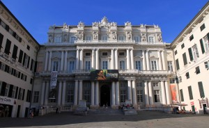 """The Doge's Palace (""""Palazzo Ducale"""") in Genoa."""