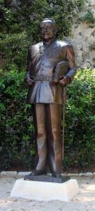 Statue of Prince Rainier III.