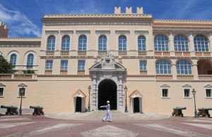 The Prince's Palace of Monaco.