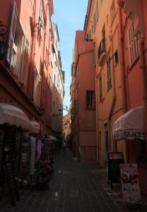Street in Monaco-Ville.