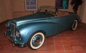 1954 Sunbeam Alpine found in the Monaco Top Cars Collection.