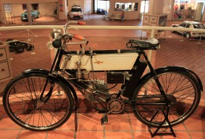 1902 Humber motorcycle.