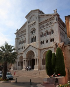 St. Nicholas Cathedral (the Catholic Cathedral where many of the Grimaldis are buried, including Rainier III and his wife, Grace Kelly).