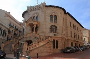 The Palais de Justice in Monaco-Ville.