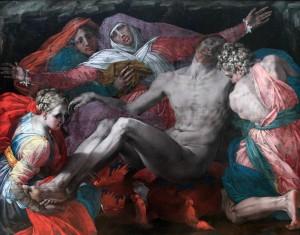 'Pietà' by Rosso Fiorentino (ca. 1537-1540).